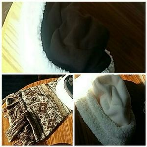 Womens hats and scarf